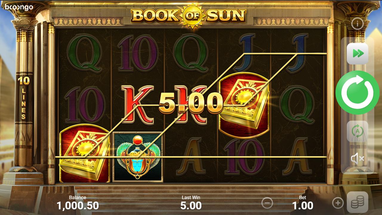 символы слота книга солнца
