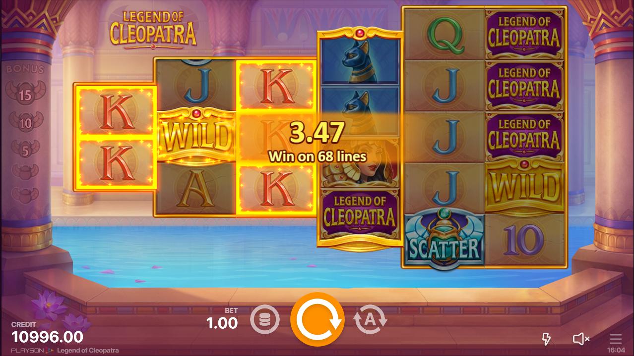 игровой автомат легенды клеопатры