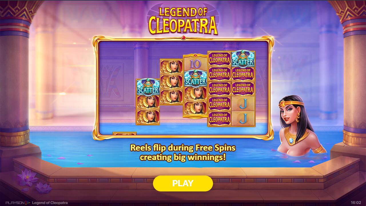 слот Legend of Cleopatra